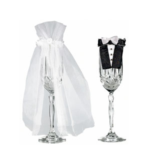 Bride and Groom Stem Wear