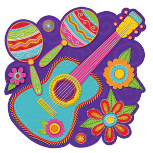Banjo with Maracas Cutouts- 13 Inch