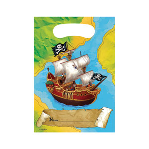 Pirate Loot Bags- 8ct