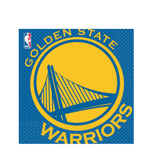 Golden State Warriors Luncheon Napkins
