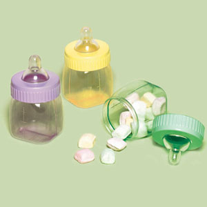 Fillable Baby Bottle - Multi