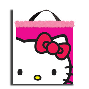 Hello Kitty Fabric Treat Bag- 14in