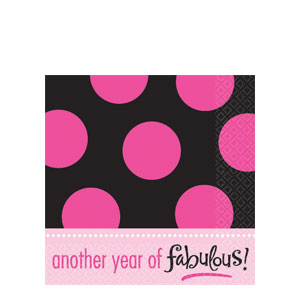 Another Year of Fabulous Luncheon Napkins- 16ct