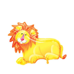 Jungle Party Lion Balloon- 35in