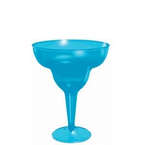 Blue Margarita Glass 8 oz.- 20ct