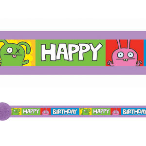 Ugly Doll Crepe Streamer- 30ft