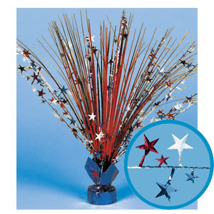Patriotic Spray Centerpiece - 18in