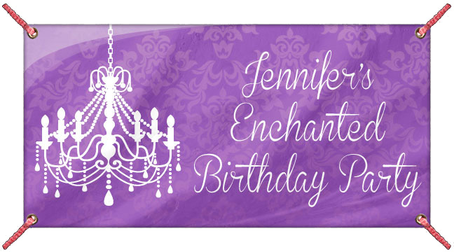 Purple Enchanted - Custom Banner