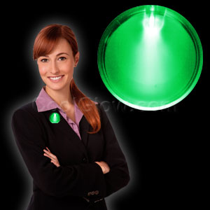 LED Badge - Green