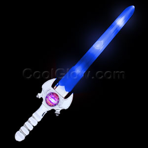 LED Spinner Sword - Blue