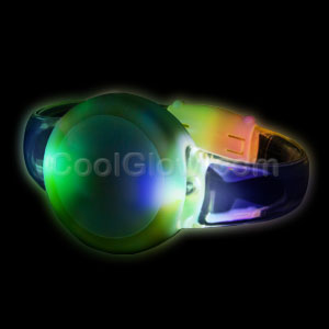 Fun Central AI305 LED Light Up Sound Activated Circle Bracelet - Multicolor