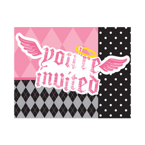 Little Angel Invitations - 8ct