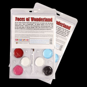 Wonderland Palette Face Paint Kit