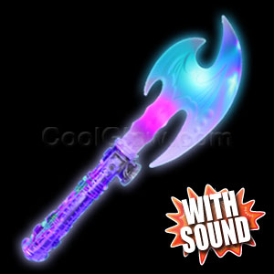 LED Medieval Axe - Multicolor