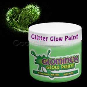 Glominex™ Glitter Glow Paint Pint - Green