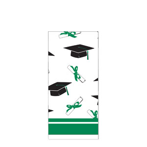 Grad Plastic Tablecover - Green