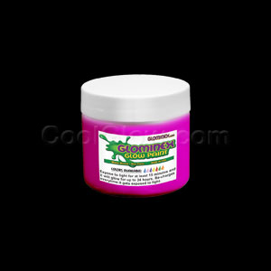 Glow Body Paint 4 oz Jar - Pink