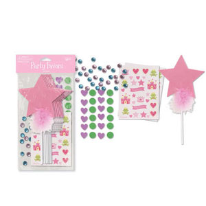Foam Wand Decorating Kit- 8pc