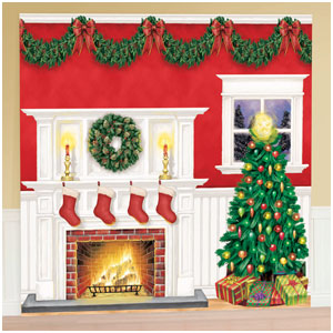 Christmas Room Decorating Kit - 6ct
