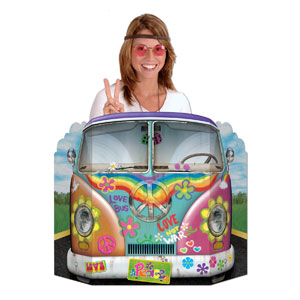 Hippy Bus Photo Prop - 37in