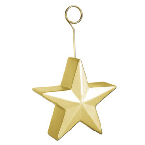 Gold Star Balloon Weight - 6oz