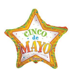 Cinco de Mayo Balloon- 18in