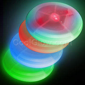 LED Frisbee 8 Inch - Assorted