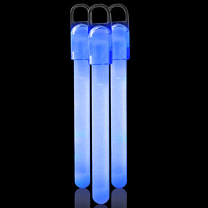 4 Inch Standard Glow Sticks - Blue