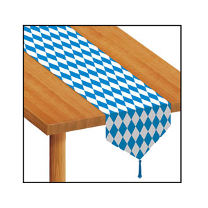 Printed Oktoberfest Table Runner - 6ft