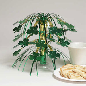 Shamrocks Mini Cascade Centerpiece-8.5 inch