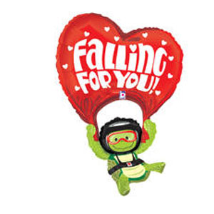 Falling For You Balloon