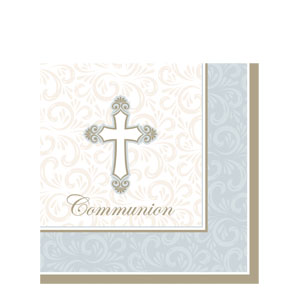 Grace Communion Luncheon Napkin