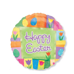 Easter Patchwork - 18 Inch