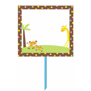 Baby Personalized Yard Sign Kit - 14 Inch 6pc