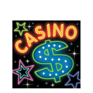 Casino Party Luncheon Napkins- 16ct