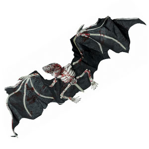 Giant Skeletal Bat- 72 Inch