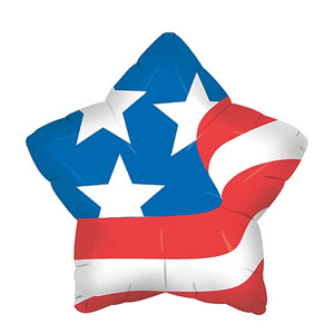 American Star Balloon- 18in