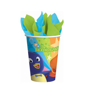 Backyardigans 9 oz. Cups- 8ct