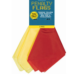 Penalty Flags- 2pc