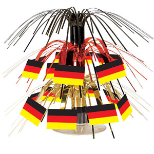 German Flag Mini Cascade Centerpiece- 7in
