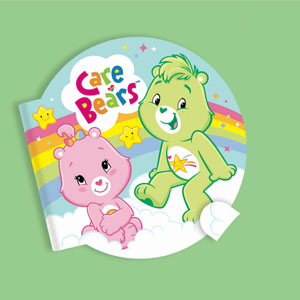 Care Bears Happy Day Note Pad Favors- 4ct