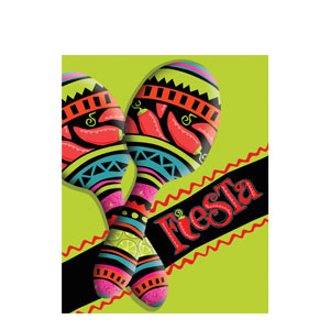 Fiesta Invitations- 8ct