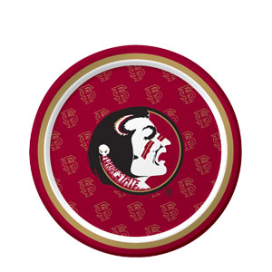 Florida State 7 Inch Plates