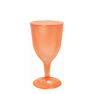Orange Wine Glasses- 8oz. 20ct