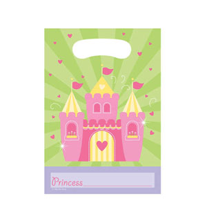 Fairytale Princess Loot Bags- 8ct