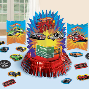Hot Wheels Table Decorating Kit- 23pc