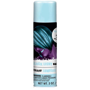Color Hair Spray- Black Light