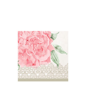 Antique Bridal Beverage Napkins