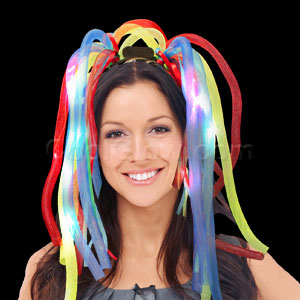 LED Party Dreads - Multicolor