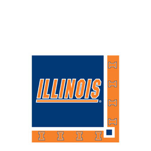 Illinois Beverage Napkins